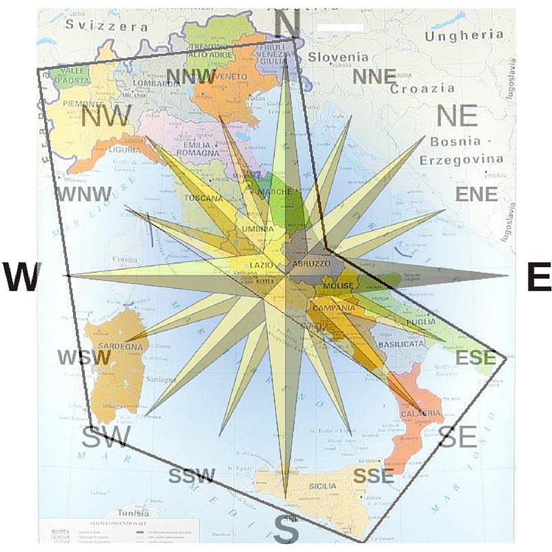 Cartina Geografica Nord Est Italia.Italia La Penisola Distesa Verso Est Stivale Addio Fabio Pozzerle